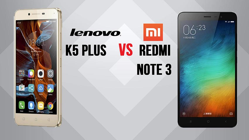 redmi note 3 vs vibe k5