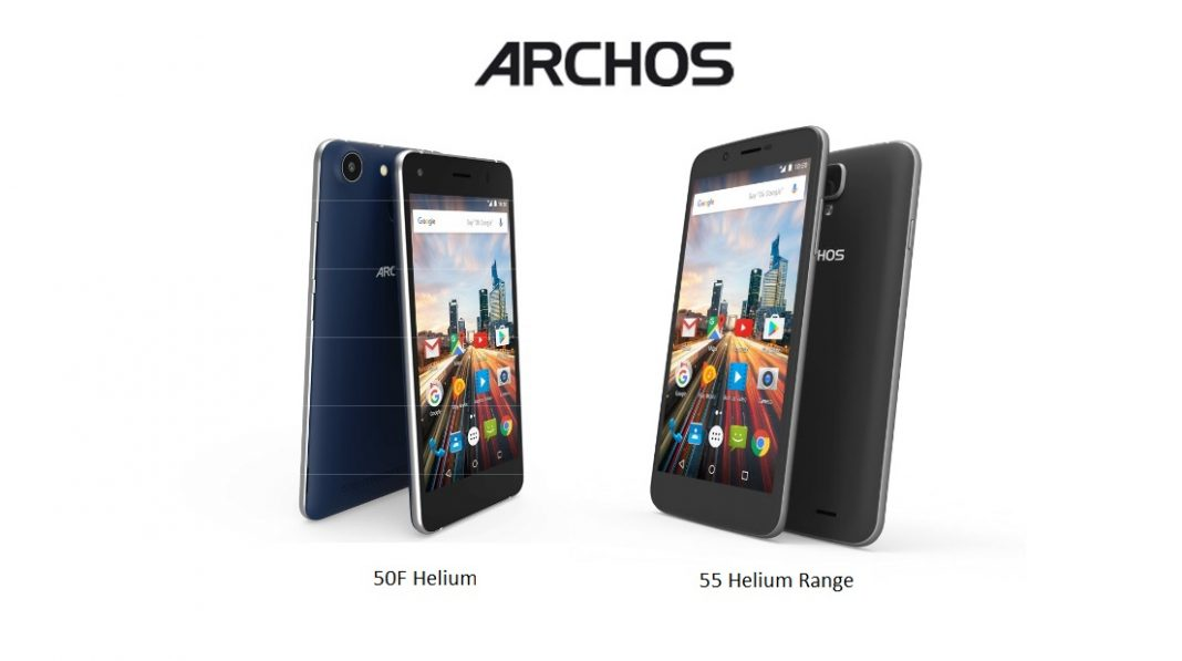 archos gear up for the launch of its new smartphone 50f helium 55 helium. Black Bedroom Furniture Sets. Home Design Ideas