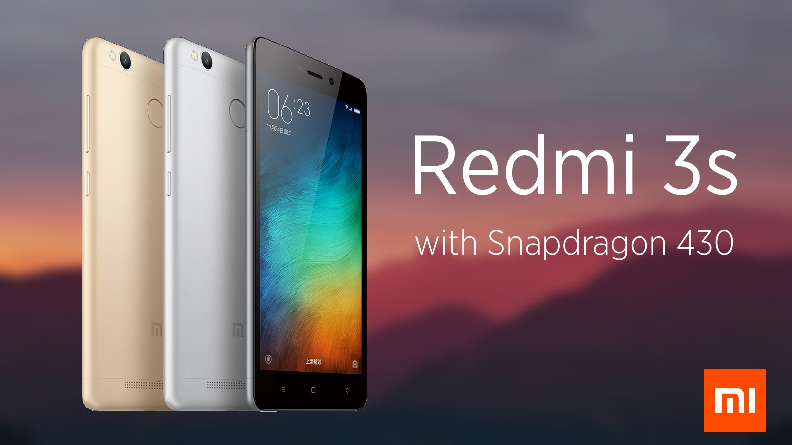 Over 1 million units of Xiaomi Redmi 3 S sold in India in