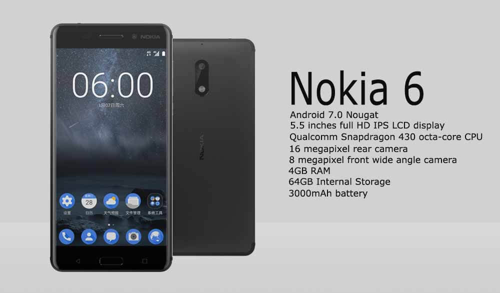 Nokia 6 Now Available In India But Only Via Third Party