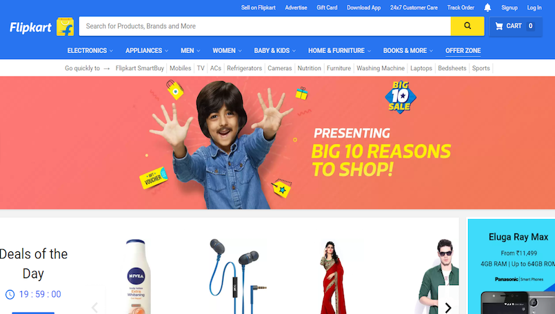 "56f2a91b7d9 Expected Offers in Flipkart ""Big 10 Sale"" From 14 May to 18 May ..."