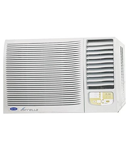 Carrier 1 5 ton 5 star estrella window ac price list in for 1 ton window ac price list 2013