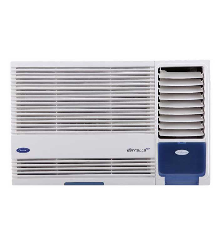 Carrier 1 ton 3 star estrella neo window ac price list in for 1 ton window ac price list 2013