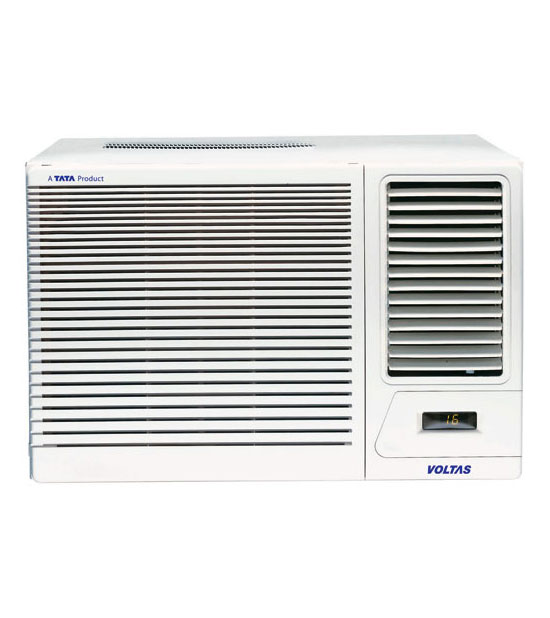 Voltas 1 5 ton 2 star 183 dx window ac price list in india for 1 ton window ac price list 2013