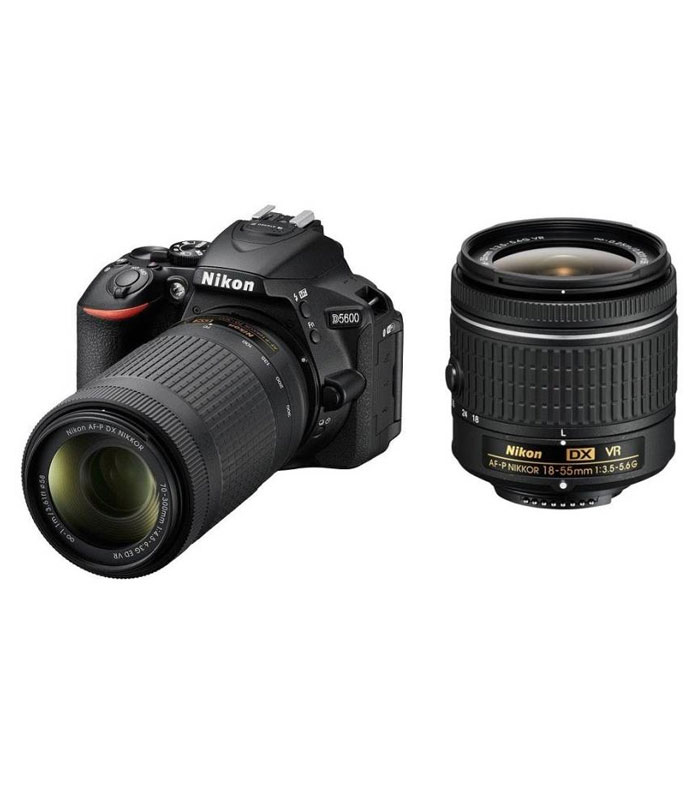 Nikon D5600 With VR Kit Lens 18-55mm And 70-300mm