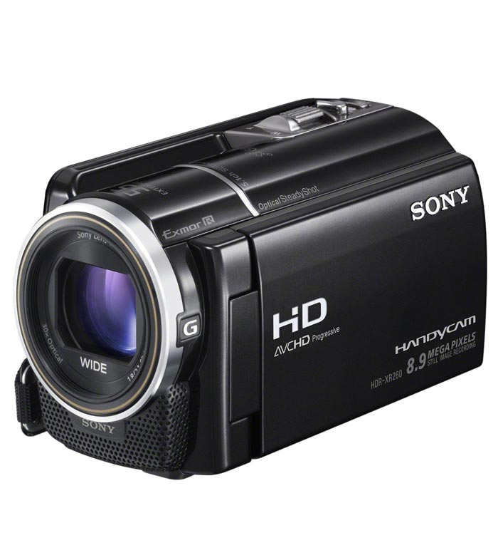 Sony Hdr Xr260ve Hd Camcorder Price List In India