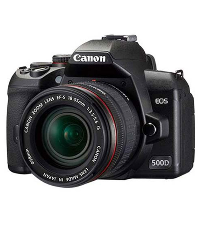 canon eos 500d with is lens camera price list in india