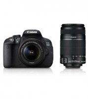 Canon EOS 700D With 18-55mm And 55-250mm Lens Camera