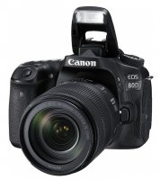 Canon EOS 80D With 18-135mm Lens Camera
