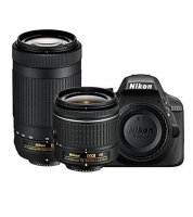 Nikon D3300 With VR Kit Lens 18-55mm And 70-300mm Camera