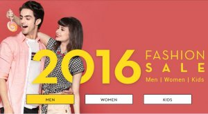 Snapdeal 2016 Fashion Sale - Upto 70% OFF On Fashion Products