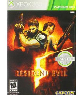 Capcom Resident Evil 5 - (Xbox 360)