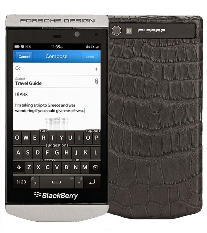 Blackberry Porsche Design P9982 Mobile Price List In India