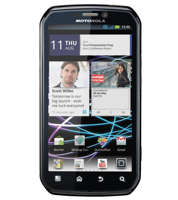 Motorola Electrify Mb853 Mobile Price List In India