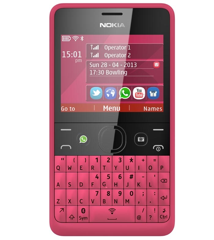Nokia Asha 210 Mobile Price List In India November 2018