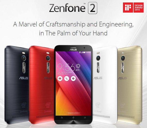 Asus ZenFone 2 ZE551ML: A phone having 4 GB RAM, 64 GB Internal memory, and 13 MP camera