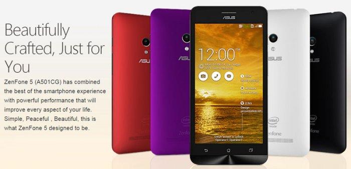 Asus ZenFone 5 A501CG: Good Build and Crispy Colored Backs