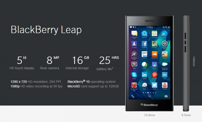 BlackBerry Leap: A Business mobile with powerful hardware and quality camera
