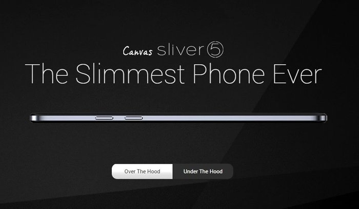 Checkout new slimmest Micromax Canvas Sliver 5 phone with extraordinary features