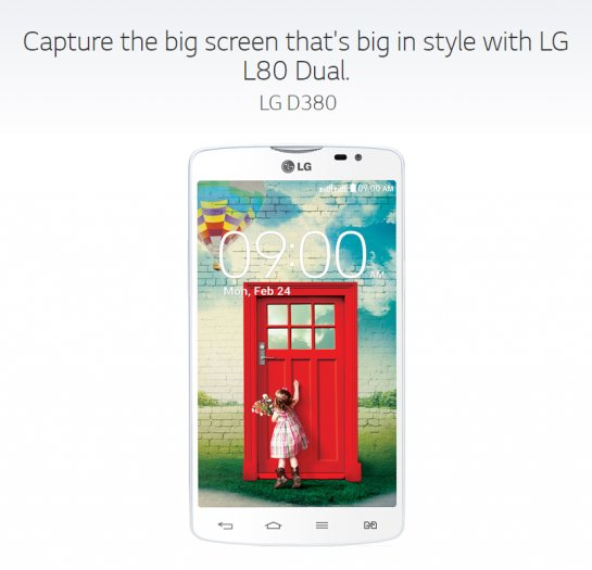 Have You Met the LG L80 Yet?