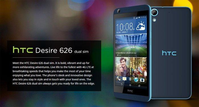 HTC Desire 626 Dual Slim Smartphone Review