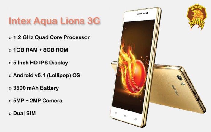 Intex Aqua Lions 3G Review