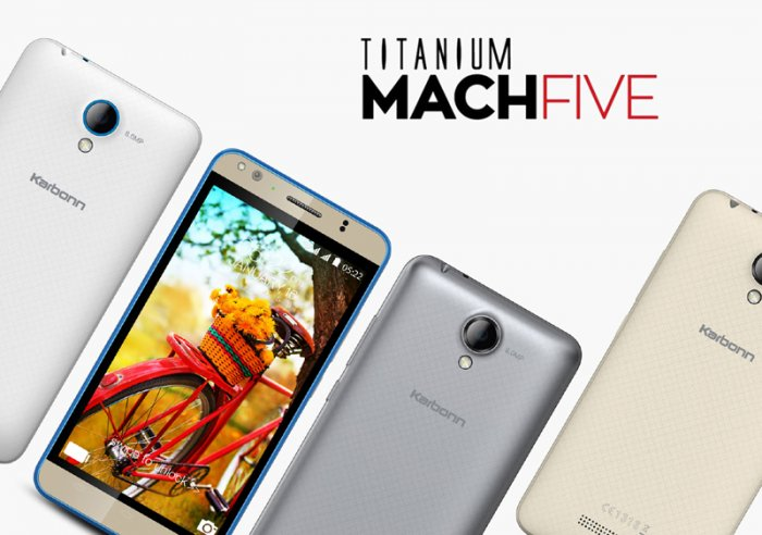 Karbonn Titanium MACHFIVE: A new generation cell phone with advance Ram and camera