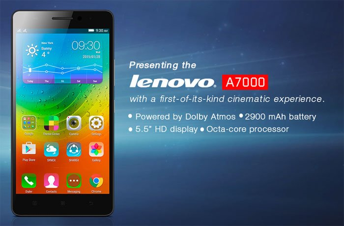 lenovo a7000 budget device for enhanced gaming productivity and multimedia experience