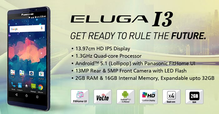 Panasonic Eluga I3 Review