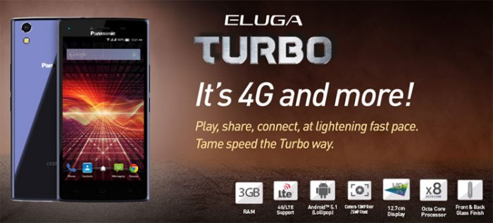 Panasonic Eluga Turbo comes with a shiny display screen and unique features
