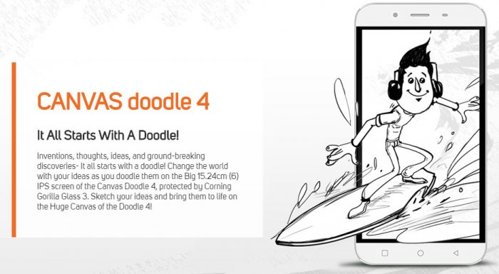Review of Specification and features of Micromax Canvas Doodle 4