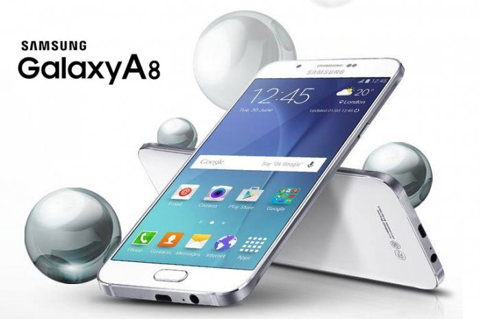 Samsung Galaxy A8: Full Metal Body Octacore Smartphone with 4G, Dual Sim and 16MP Camera