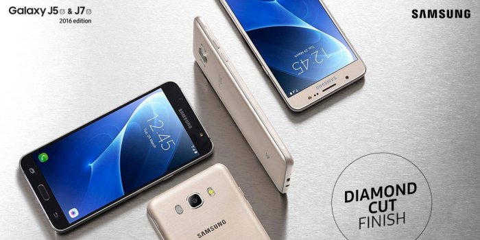 Samsung Galaxy J7 2016 comes with a large display screen