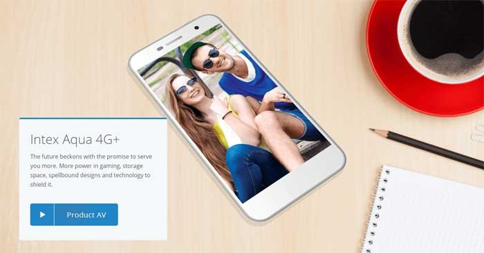 See unmatched quality of Intex Aqua 4G+ phone, having powerful display and fast Ram