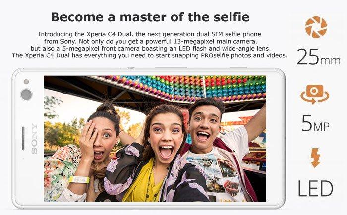 Sony Xperia C4: A cool selfie smartphone