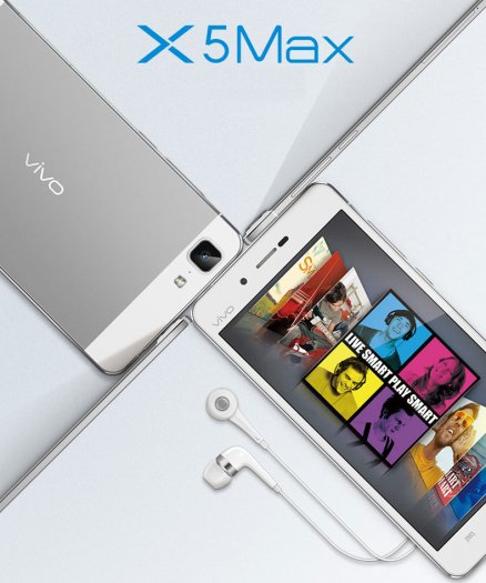 Vivo X5 Max: The Slimmest Smartphone is Here Now