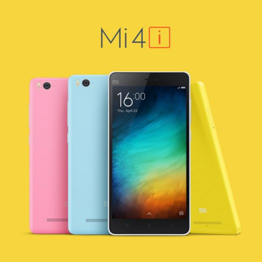 Xiaomi Mi 4i: 5 Inch screen with 3120 mAh battery
