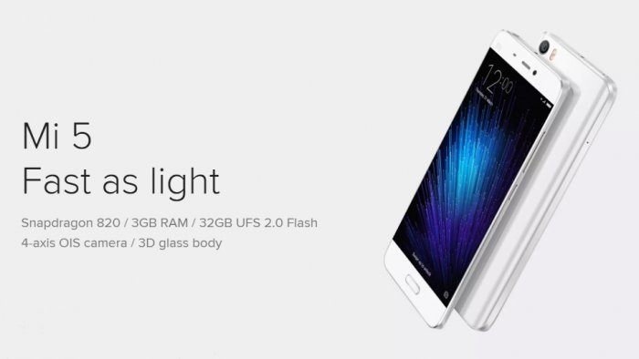 Xiaomi Mi 5 The Smartest phone on the planet with UHD resolution and 32GB ROM