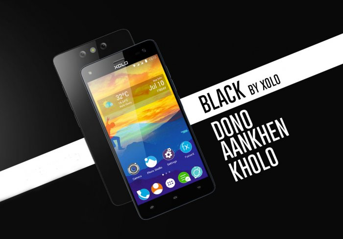 XOLO Black: Dual Rear Camera Smartphone with Octacore, 4G support and 3200mAh Battery