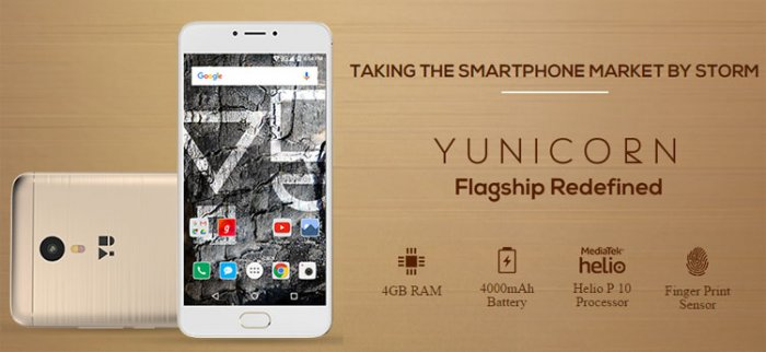 YU Yunicorn a 4G smartphone that comes with pleasing looks and powerful RAM