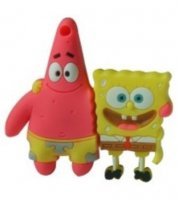 Microware Patrick Star And SpongeBob Shape 32GB Pen Drive