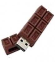 Microware Chocolate Shape 4GB Pen Drive