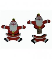 Microware Santa Claus Shape 4GB Pen Drive