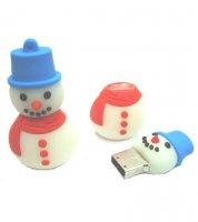 Microware Snowman Shape 4GB Pen Drive