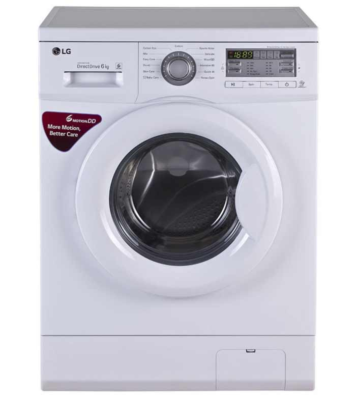Lg Fh0b8ndl2 6 Kg Fully Automatic With Front Loading