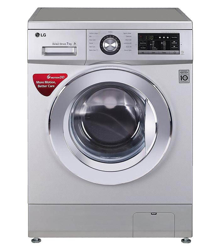 Lg Washing Machine ~ Lg fh g hdnl kg fully automatic with front loading